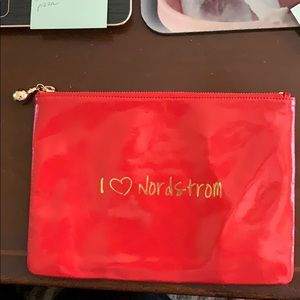 Nordstrom Purse satchel/makeup bag